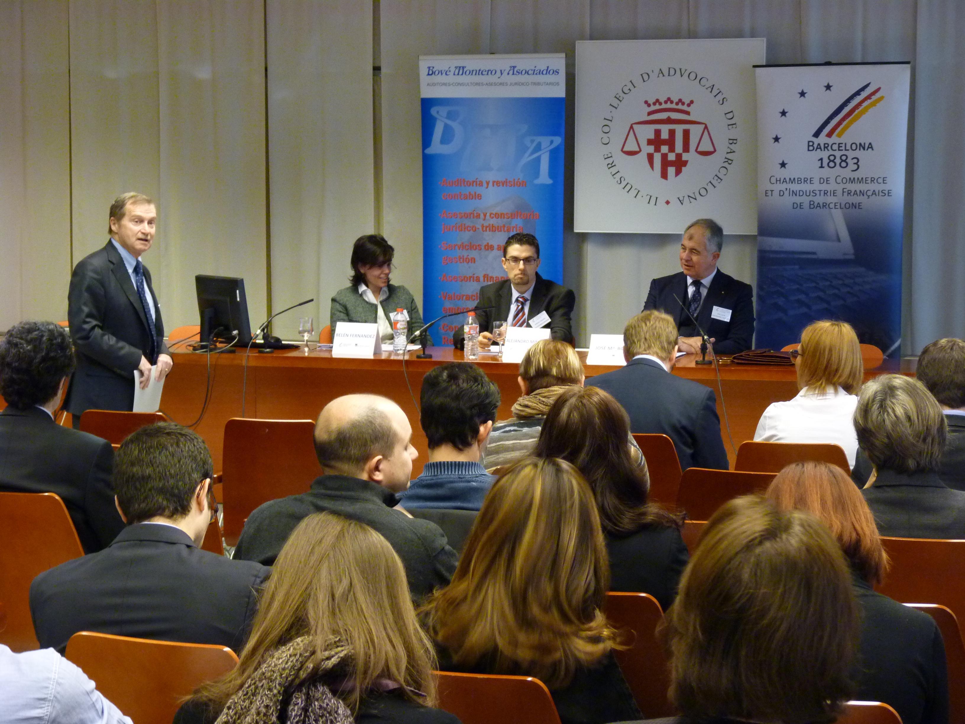 Philippe Saman, Belén Fernández y Alejandro Miñano_José María Bové