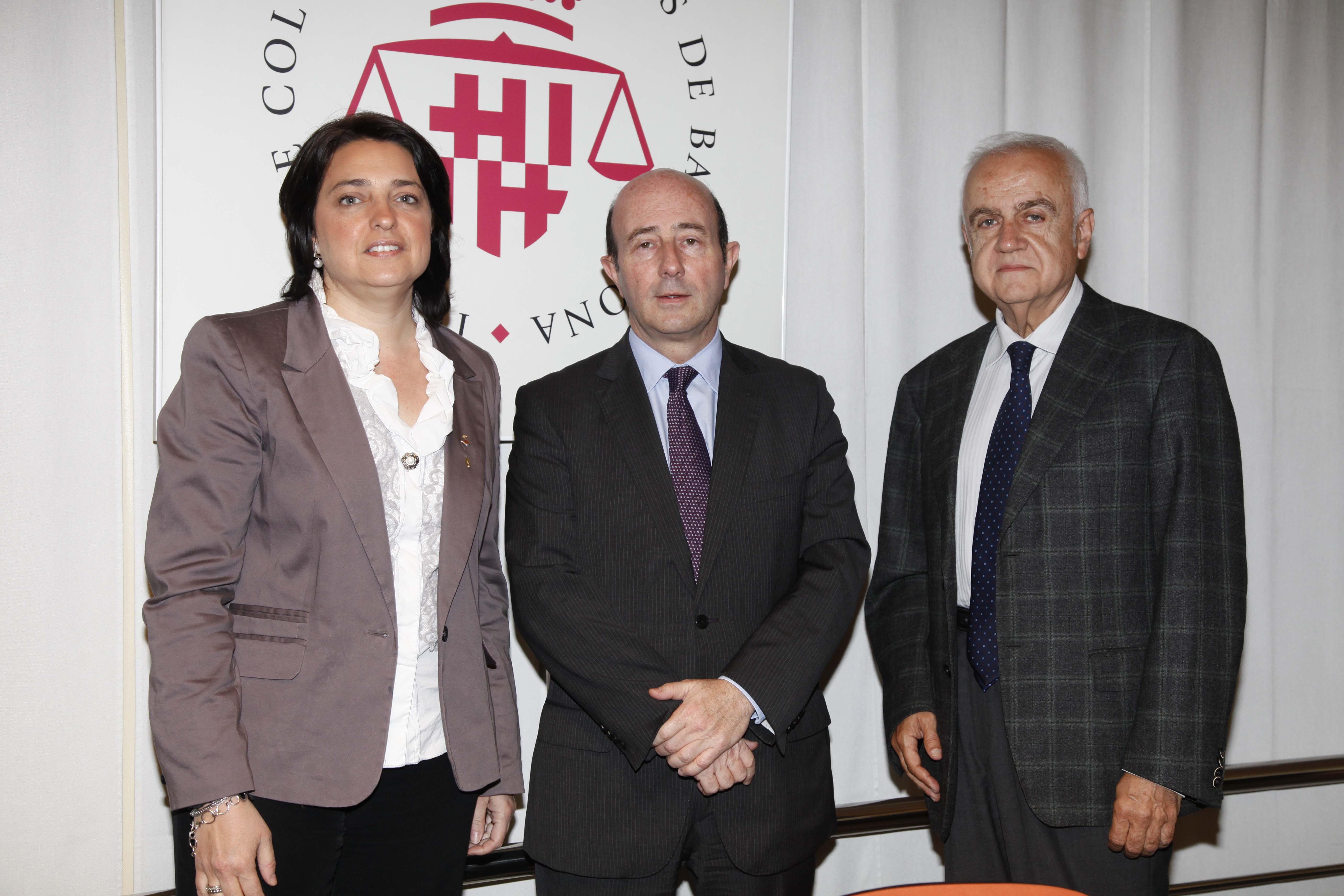 Sònia Recasens, Pedro L. Yúfera y Daniel Faura