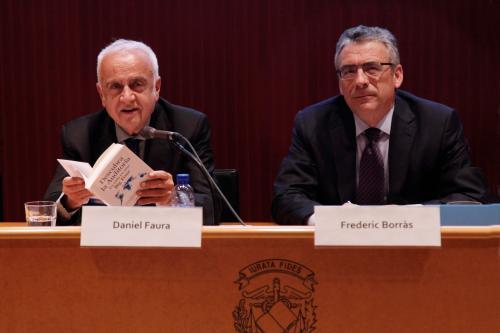 Daniel Faura y Frederic Borràs