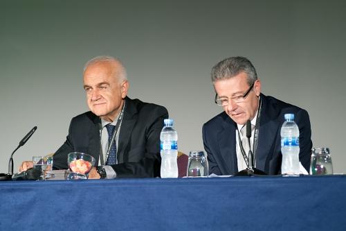Daniel Faura, presidente AMA y Javier Navarro, presidente Sección Balear Instituto Censores Cuentas España