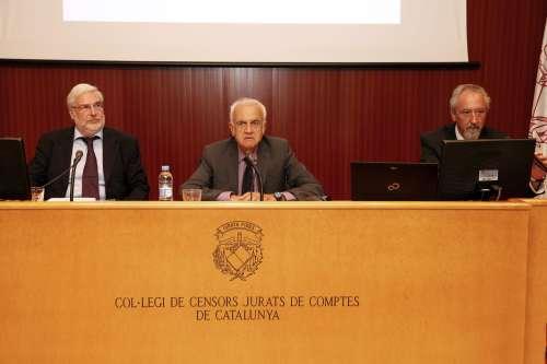 Daniele Perico, Daniel Faura y Xavier Llopart
