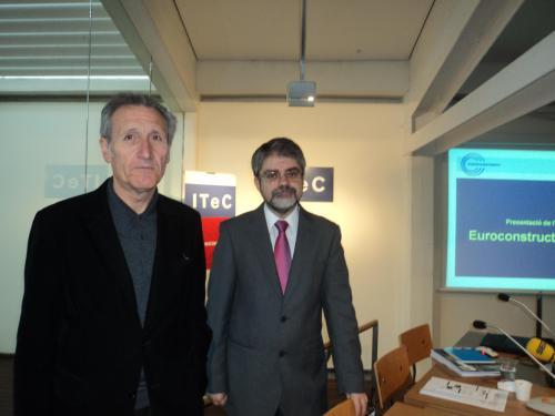 Anton M. Checa_Director general ITeC_Josep Ramon Fontana_Cap Servei Prospectiva ITeC 1