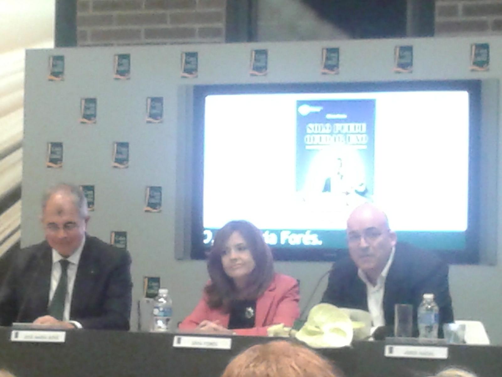 José María Bové, Sílvia Forés y Jordi Nadal